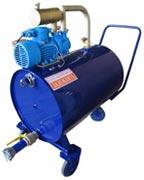 Установка вакуумная для откачки подтоварной воды
